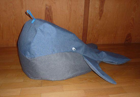 Produktfoto für Schnittmuster Sitzsack Wal von Snaply