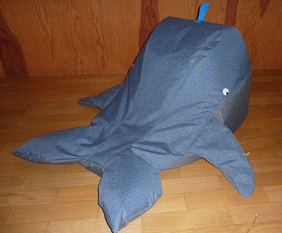 Foto zu Schnittmuster Sitzsack Wal von Snaply