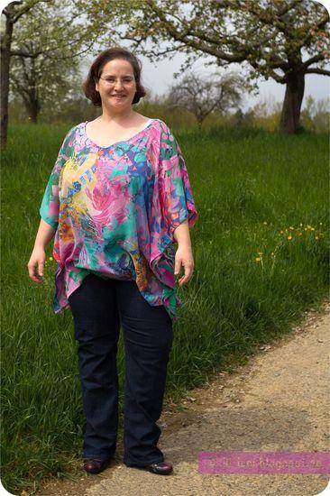 Schnittmuster Bertioga von Erbsünde als e-book für Damen in den Kategorien Kleid, Oberteil