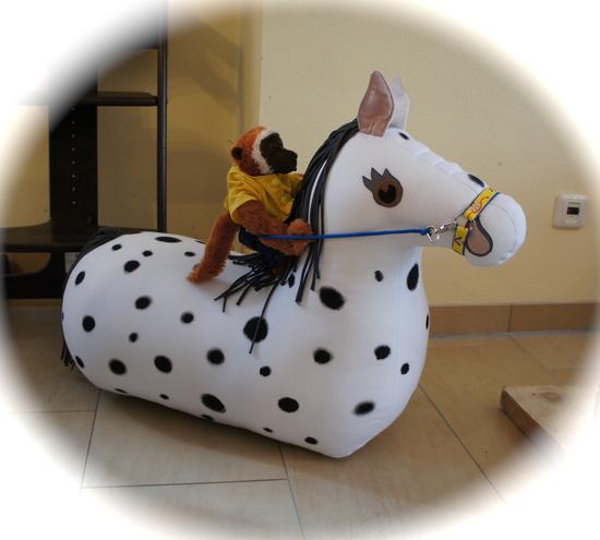 Produktfoto für Schnittmuster Reittier Pferd von Frau Scheiner