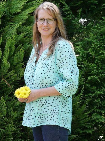 Schnittmuster Cheyenne Tunika und Bluse von Hey June Patterns als e-book, DIN A0-Datei für Damen in Kategorie Oberteil