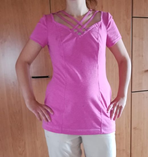 Foto zu Schnittmuster Blusenshirt Jennifer contour von TINALisa Schnittdesign