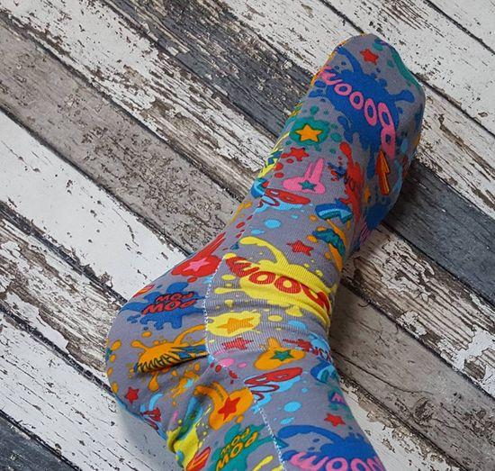 Produktfoto für Schnittmuster Socken Größe 19-34 von andereseite