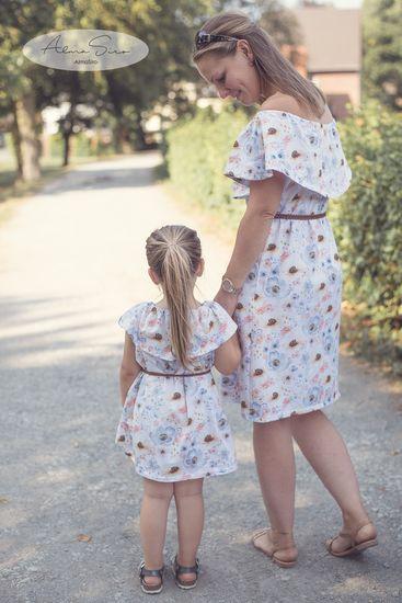 Produktfoto für Schnittmuster Kleid/Shirt Miss Mekko von Din.Din