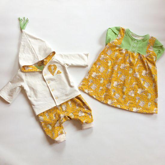 Produktfoto für Schnittmuster Kleine Maid von Goldkrönchen