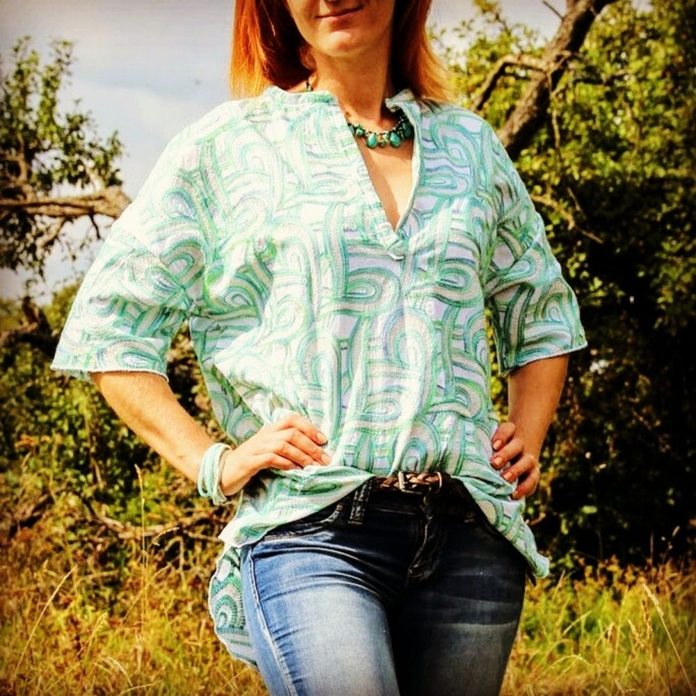 Foto zu Schnittmuster Oversize-Bluse MaCaya von ki-ba-doo