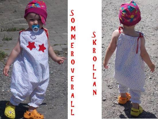 Foto zu Schnittmuster Sommeroverall Skrollan von lolletroll