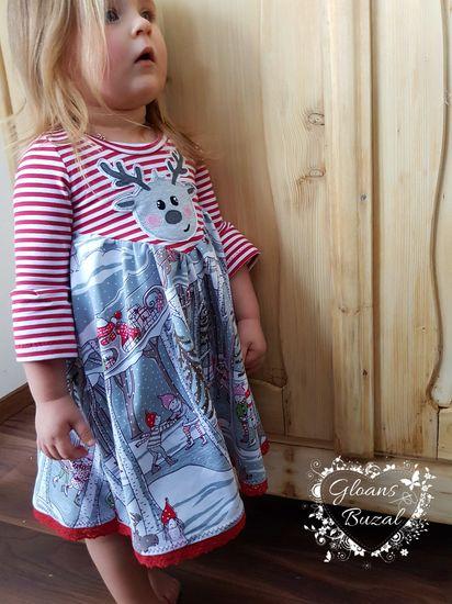 Produktfoto für Schnittmuster Kleid #Petite Chloe -Jersey- von Laneli