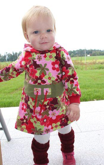 Produktfoto für Schnittmuster Hoodie-Tunika Zoe von Engelinchen