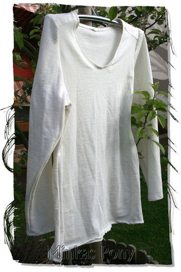 Foto zu Schnittmuster Langarmshirt mit Puffärmel l10sh1 von schnittvision