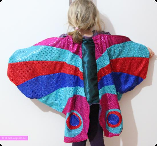 Produktfoto für Schnittmuster Schmetterlingflügel-Umhang von Frau Scheiner