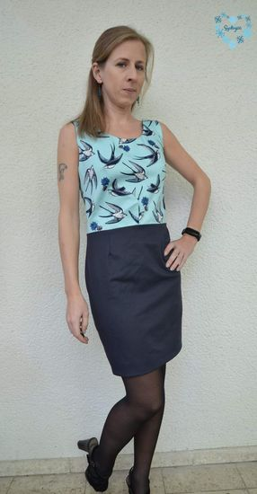 Produktfoto für Schnittmuster Y-Dress von sewera