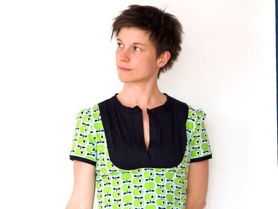 Foto zu Schnittmuster Kleid & Shirt Masha von kreativlabor Berlin