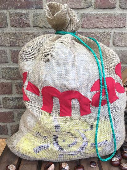 Kostenloses Schnittmuster WeihnachtsmannSack von Leni Pepunkt