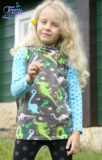 Foto zu Schnittmuster AnniNanni Schnitt 4 Kapuzenpulli Kinder von Anni Nanni