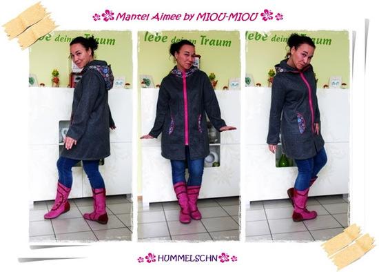 Produktfoto für Schnittmuster Mantel/Jacke Aimee von Miou Miou