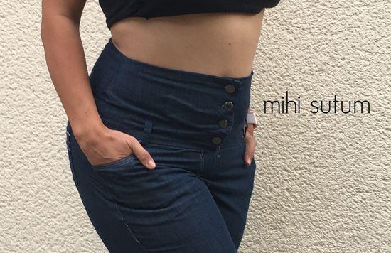 Produktfoto für Schnittmuster Skinnyjeans von sewera