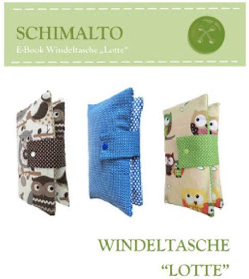 Foto zu Schnittmuster Windeltasche Lotte von schimalto