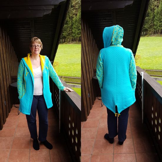 Schnittmuster Casual Lady von Schnittherzchen als e-book für Damen in Kategorie Jacke