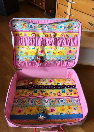 Foto für Schnittmuster Kinder-Reisekoffer von Frau Scheiner