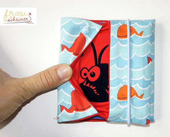 Foto zu Schnittmuster Hülle für kleine Kinderbücher von Frau Scheiner