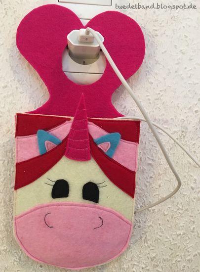 Foto zu Schnittmuster Handyladetasche Einhorn von kullaloo