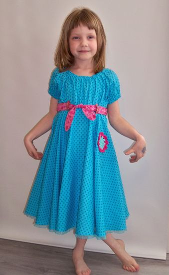 Schnittmuster Fifties-Fever Dress von KillerTasche als e-book für Mädchen in Kategorie Kleid (80–170)