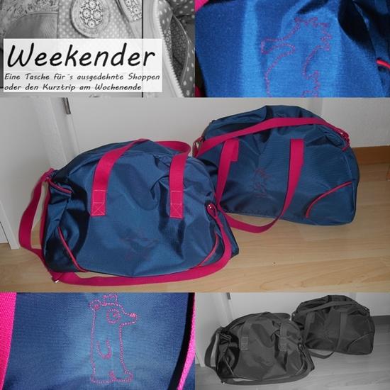 Foto zu Schnittmuster Weekender-Tasche von Echt lecker