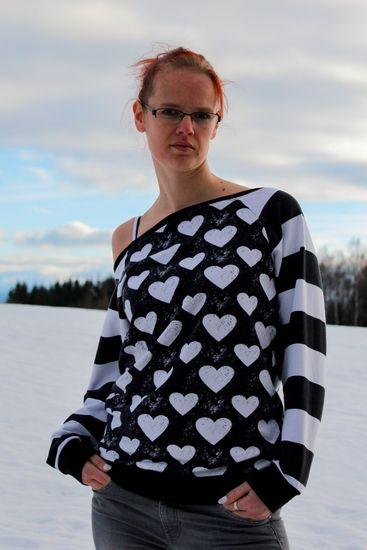Foto zu Schnittmuster Raglan Sweater Fjella von Mamili1910