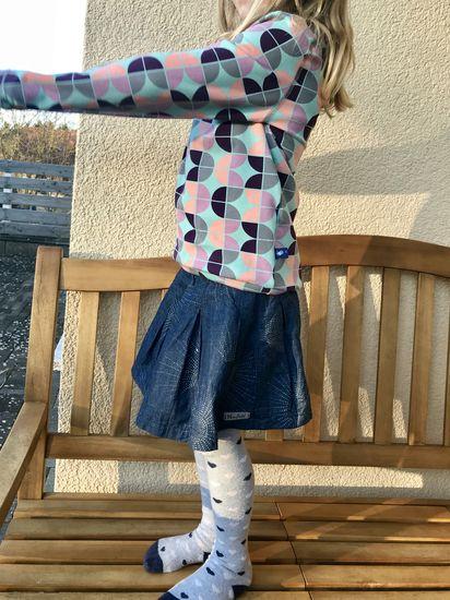 Produktfoto für Schnittmuster Faltenrock Rapunzel von Firlefanz