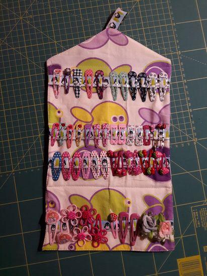 Produktfoto für Schnittmuster Haardings Haarspangen-Etui von Annas Country
