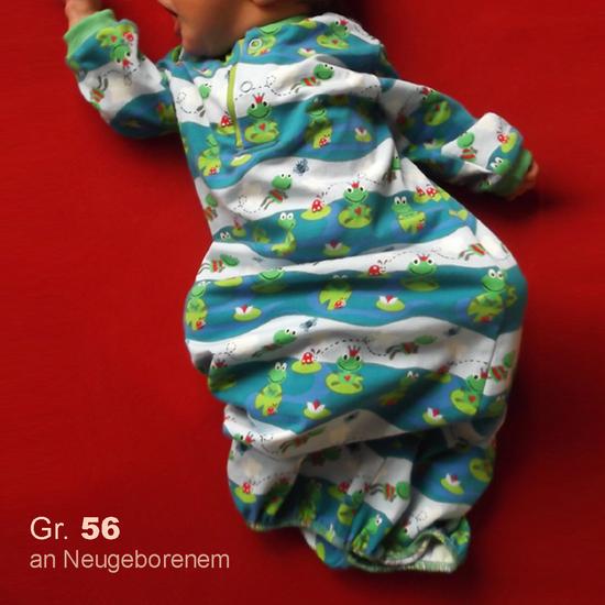 Produktfoto für Schnittmuster Schlafgewand von Muhküfchen Design