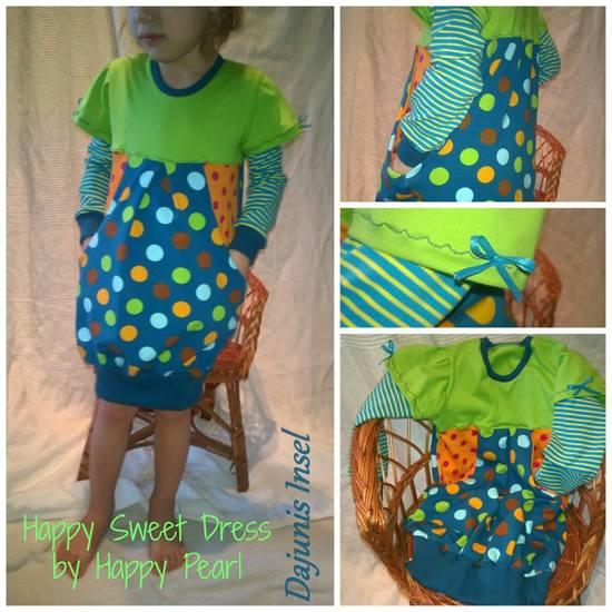 Foto zu Schnittmuster Happy Sweet Dress von Happy Pearl