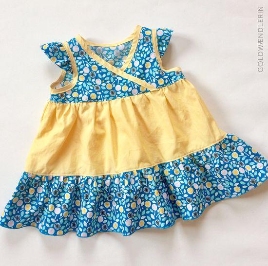 Produktfoto für Schnittmuster Lieblingskleidchen von Erbsenprinzessin