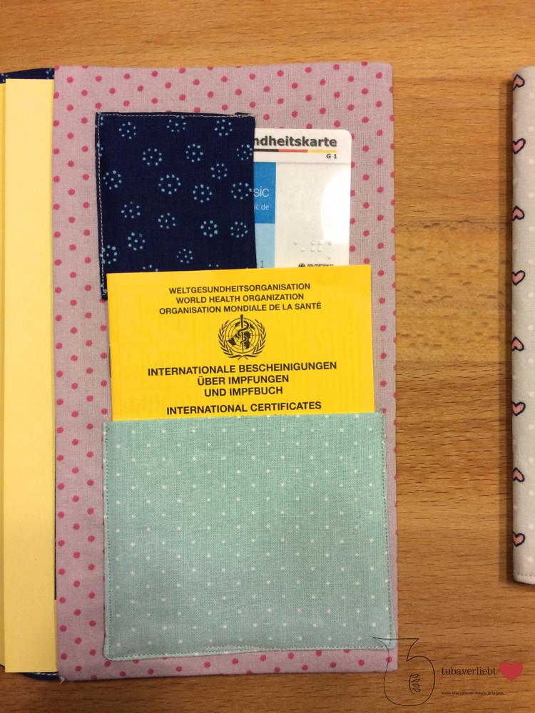 Foto zu Schnittmuster Mutterpass-Hülle und U-Heft-Hülle von Frau Scheiner