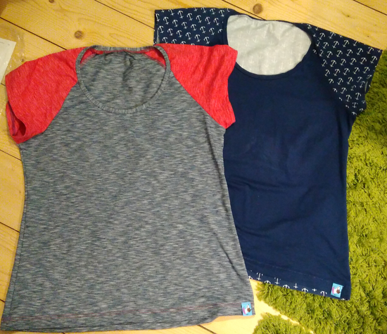 Produktfoto für Schnittmuster Shirt Tunturi von Näähglück - by Sophie Kääriäinen