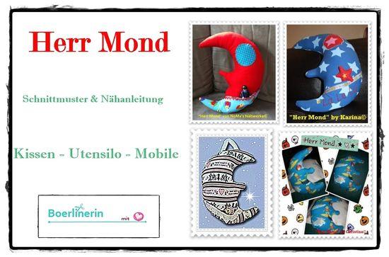 Produktfoto für Schnittmuster Herr Mond von Boerlinerin