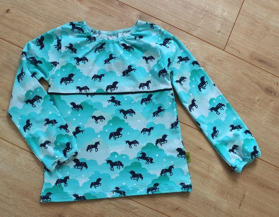 Produktfoto für Schnittmuster Shirt Sophia goes Schoolgirl von Engelinchen