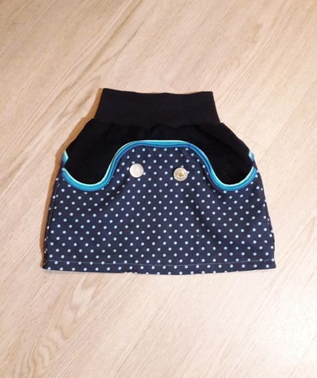 Produktfoto für Schnittmuster Lütter Knopfrock von Lumali