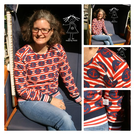 Produktfoto für Schnittmuster Pulli Frau Lene von Hedi
