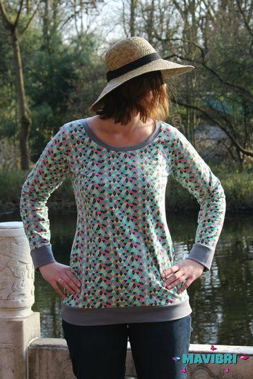 Produktfoto für Schnittmuster Shirt Eve von Knuddelmonster