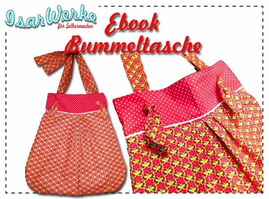 Foto zu Schnittmuster Bummeltasche von IsarWerke