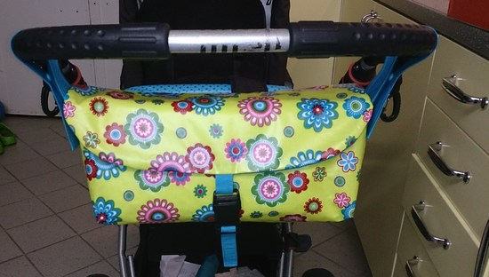 Foto zu Schnittmuster Kinderwagentasche Woody von Le-Kimi