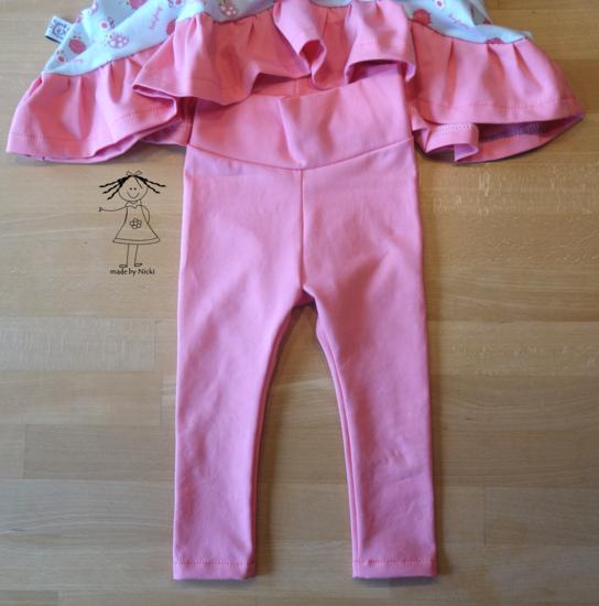 Produktfoto für Schnittmuster Kinderleggings von lesulu