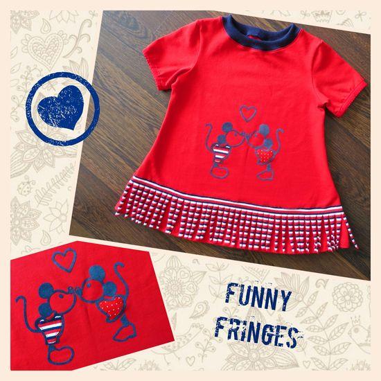 Produktfoto für Schnittmuster #12 Funny Fringes von Ottobre Design