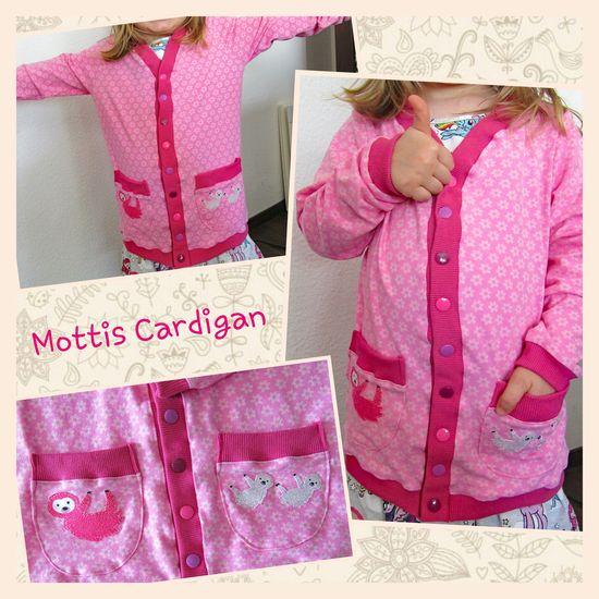 Produktfoto für Schnittmuster Mottis Cardigan von Made for Motti