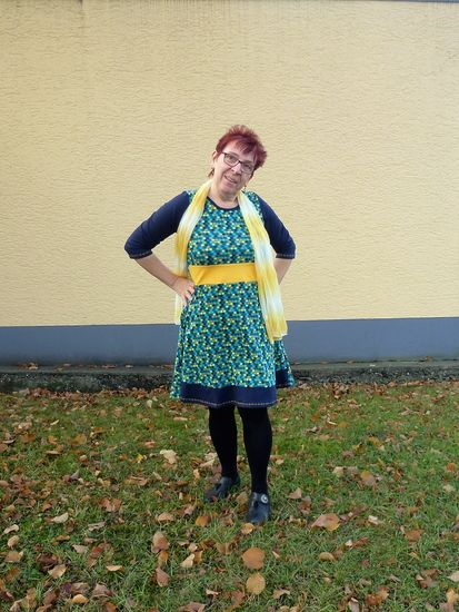Produktfoto für Schnittmuster Rain-Day Dress von Paulina näht