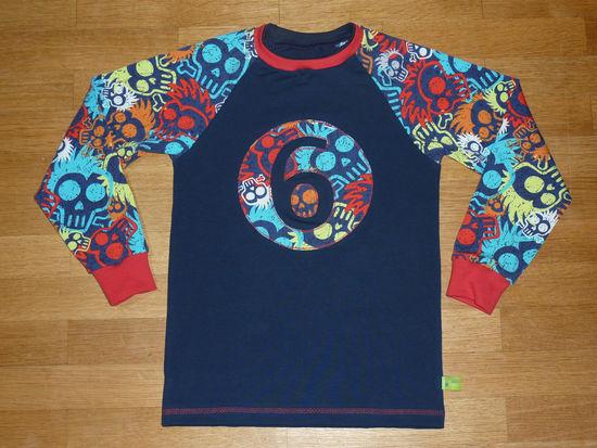 Produktfoto für Schnittmuster timtom No.12 Raglanshirt schmal (Vitus) von timtom