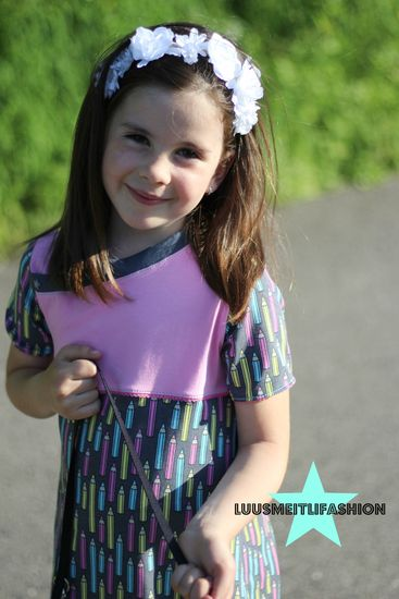 Schnittmuster #15 Lieblings-Kleid und Tunika von mamasliebchen als e-book, Papierschnitt für Babies, Mädchen in den Kategorien Kleid, Oberteil (56–164)