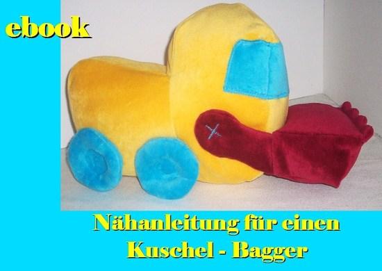 Foto zu Schnittmuster Kuschel-Bagger von Pflaumenwurst